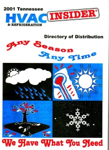 HVAC Insider - Directory of Distributors - 1995 - 2002