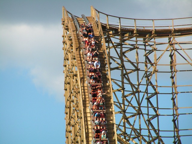 Screaming, Stress, Roller Coaster Ride